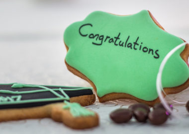 Graduation Cookies by Jacques Exclusive Catering