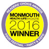 Monmouth Health & Life Magazine's Readers Choice Awards 2016 - #1 Caterer