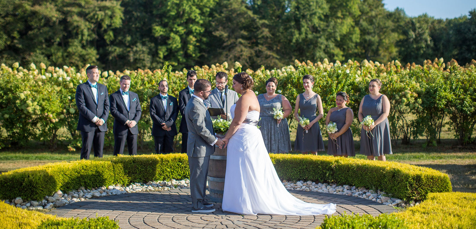 Wedding Ceremony at Spring Valley Meadow