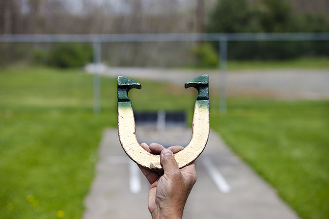 St. Patrick's Day Horseshoe Game