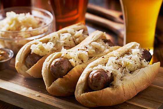 Bratwurst and Beverage Pairing