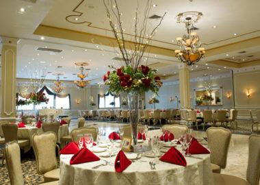 Wedding at the Reception Center